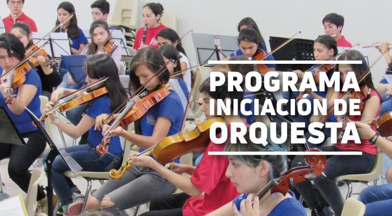 Programa Iniciación de Orquesta La Reina