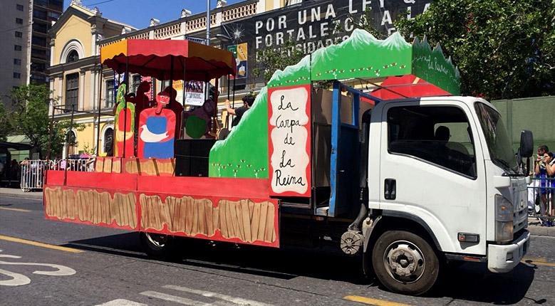 Galería: La Reina en Santiago es Carnaval (2017.10.15)