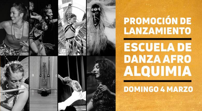 Lanzamiento Escuela de Danza Afro Alquimia