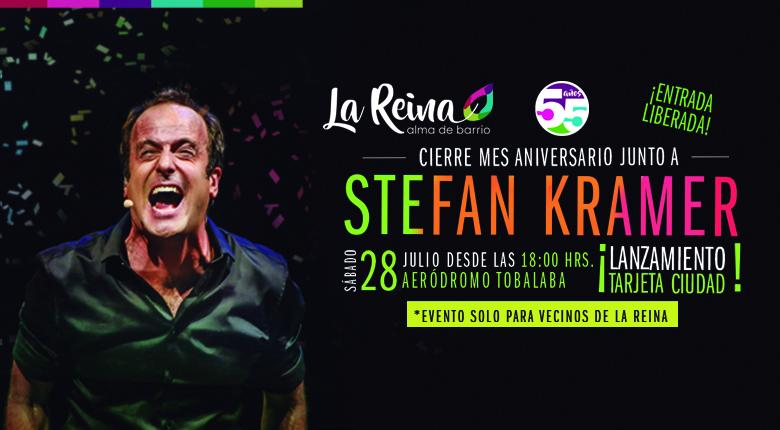 Stefan Kramer en Aniversario de La Comuna