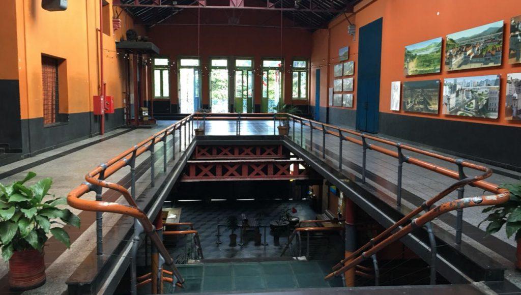 Firma de convenio Centro Cultural Fundição de Arte e Progresso