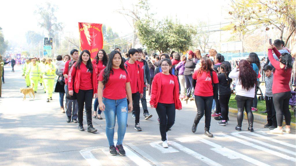 Desfile Escolar, Cívico y Militar de La Reina