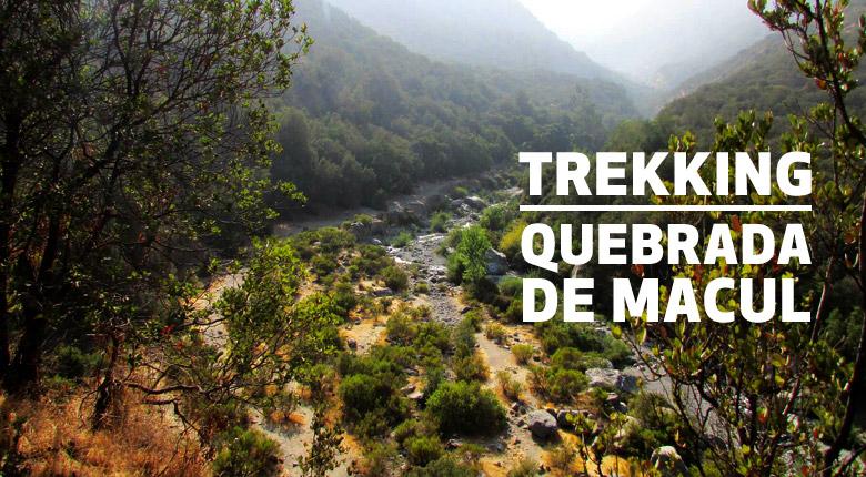 Trekking Sendero Quebrada de Macul – Domingo 21 de octubre