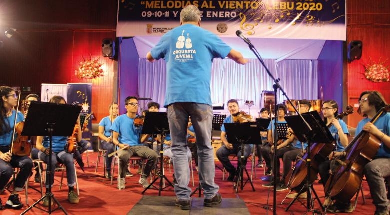 12º Encuentro de Orquestas Melodías al Viento Lebu 2020