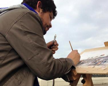 Ernesto Díaz Aravena – Pintor