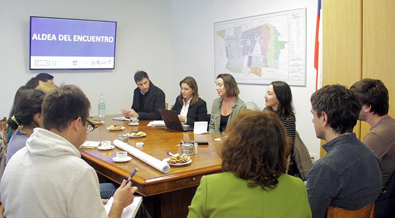 Reunión de coordinación para el proceso de revitalización y mejoramiento de la Aldea del Encuentro