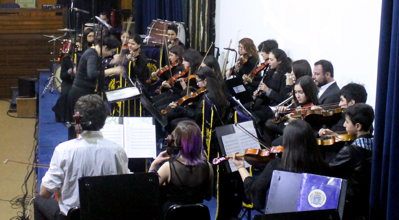Galería: La Orquesta Juvenil de La Reina brilló en la Academia de Guerra (2017.09.07)