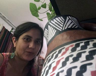 Pola Castillo – Tejedora Diaguita