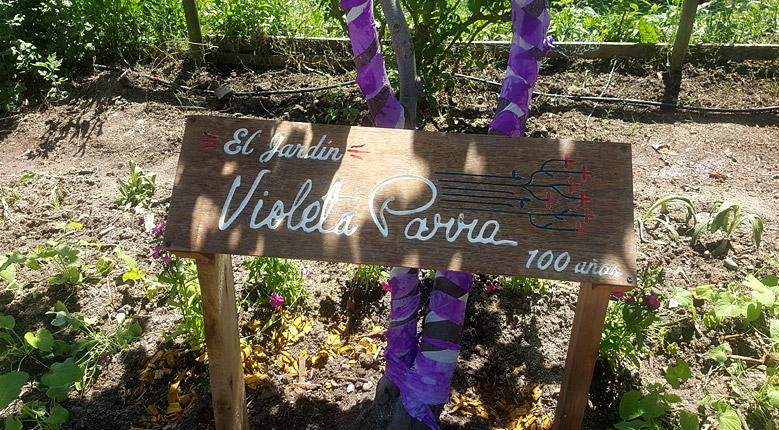 Galería: El Jardín Violeta Parra (2017.10.18)
