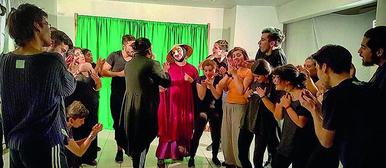 Galería: Taller de Actuación con la Compañía TeatroPan (2018.01.19)