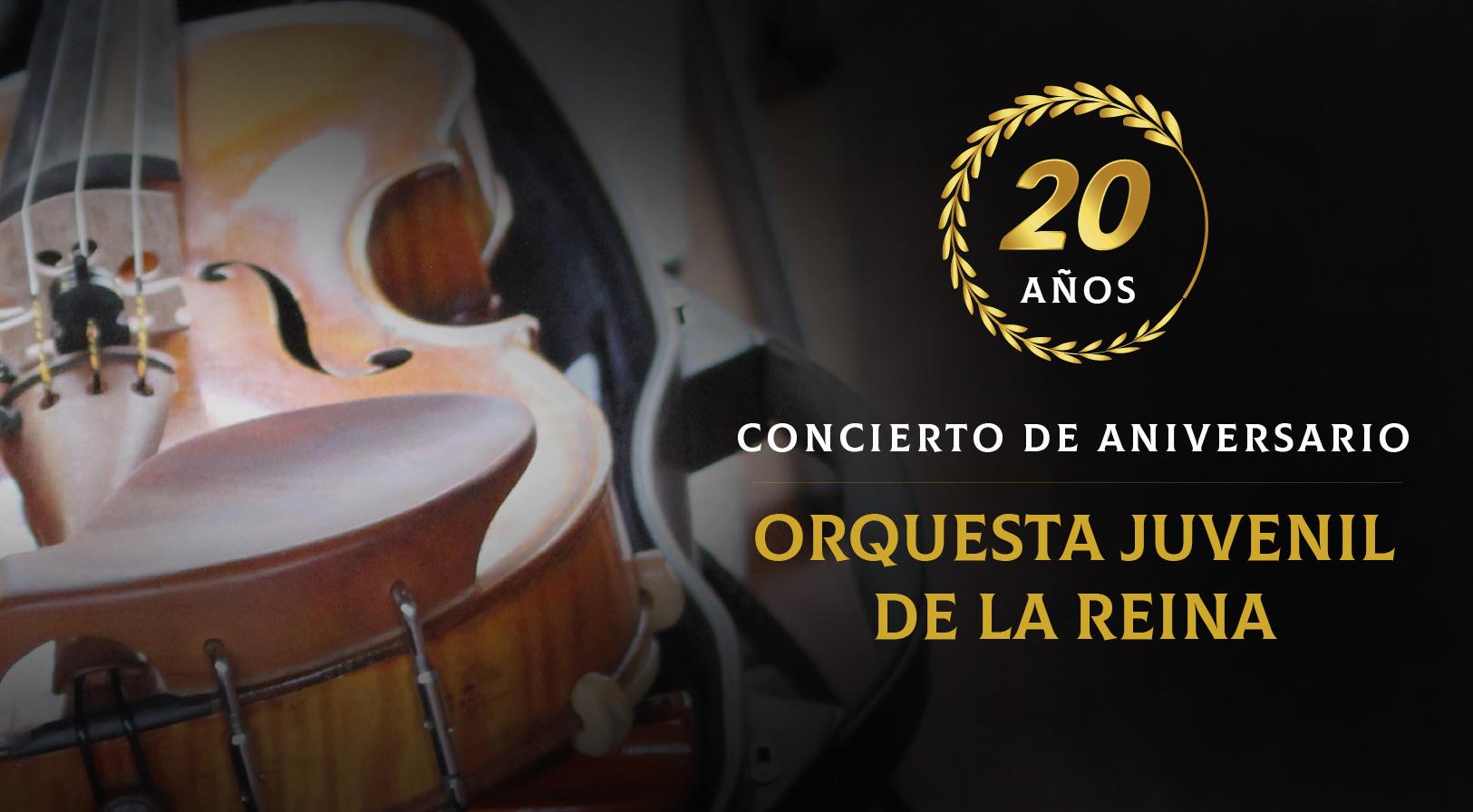 XX Aniversario Orquesta Juvenil de La Reina